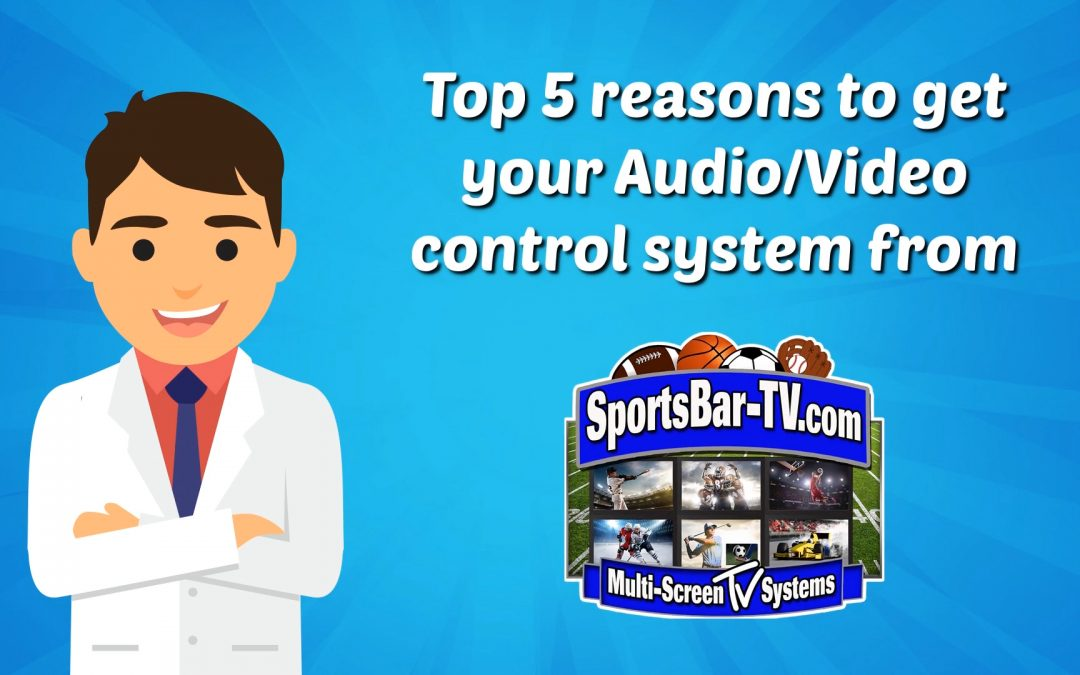Promo Video for Sports Bar TV Systems